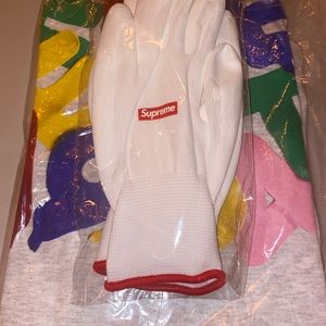 Supreme T-shirt and Gloves